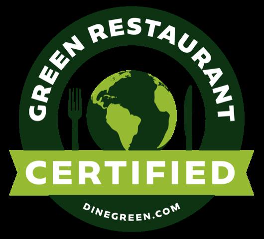Raven Cafe Now a 3 Star Certified Green Restaurant!   Raven Café